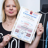 Надежда Владимировна Морозова преподаватель курса швейная технология.